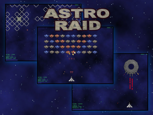 AstroRaid Screen shot
