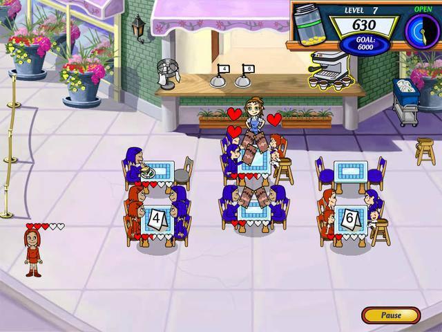 diner dash online play