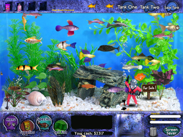 Fish tycoon game free download fish tycoon game play for Fish tank game